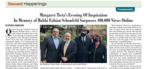 screenshot of Queens Jewish link article